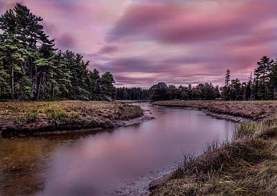 Photograph - Meandering Inlet by Steve Zimic