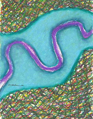 Painting - Meandering Path by Carrie MaKenna