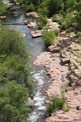 Arizona Photograph - Meandering River by Carol Groenen