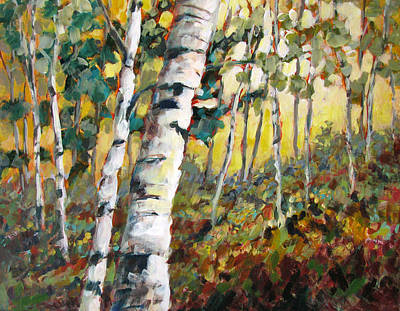 Painting - Meandering Woods by Melissa Gannon