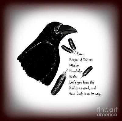 Photograph - Meaning Of Raven by Eva Thomas