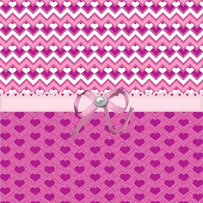 Valentines Day Digital Art - Meaningful Hearts  by Debra  Miller