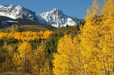 Photograph - Mears Peak Colorado by Aaron Spong