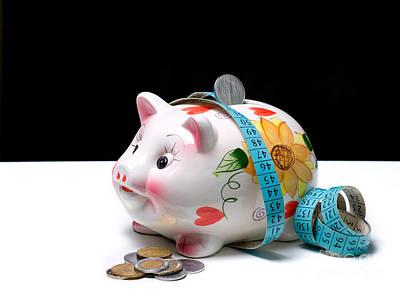 Measure Of Savings Art Print