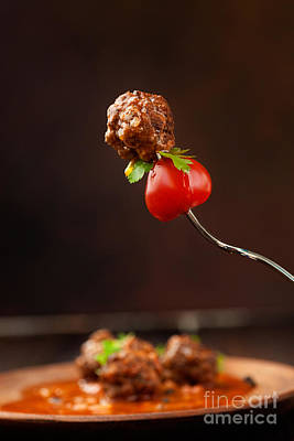 Meatball Photograph - Meat Balls by Mythja  Photography