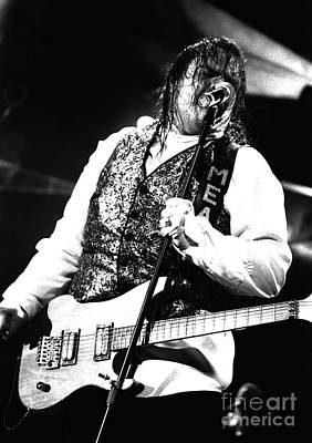 Concert Photograph - Meat Loaf  by Timothy Bischoff