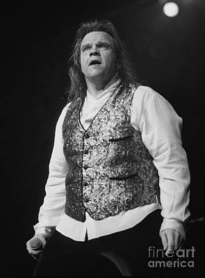 Aday Photograph - Meatloaf by Concert Photos