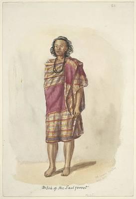 Mech Of The Saul Forest, 1847 Art Print