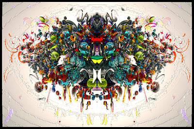 Digital Art - Mechanical 572  34 by Zac AlleyWalker Lowing