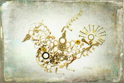 Photograph - Mechanical - Bird by Fran Riley