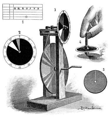 1895 Photograph - Mechanical Colour Test by Science Photo Library