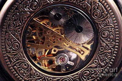 Mechanical Art Print by John Rizzuto
