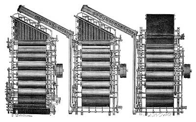 Mechanization Photograph - Mechanical Loom by Science Photo Library