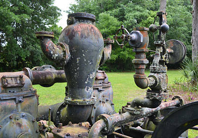 Photograph - Mechanical Statuary - Water Works by rd Erickson