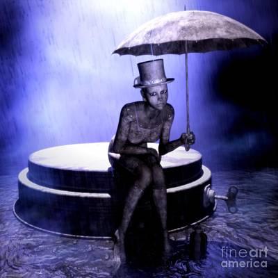 Mechanical Tears Original by Gabor Gabriel Magyar - Forgottenangel