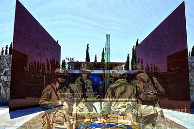 Medal Of Honor Memorial Revisited Art Print by Tommy Anderson