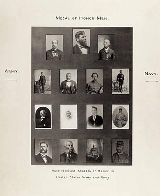 Medal Of Honor Recipients Art Print