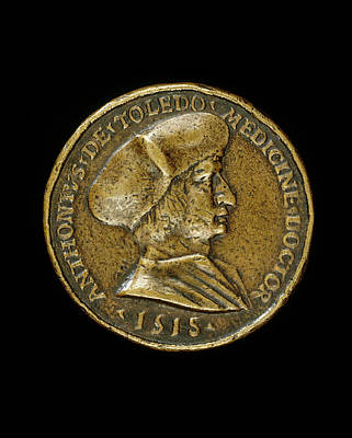 Medalist Of 1518, Antonio Gonzalo De Toledo, 1480-1483-1524 Art Print