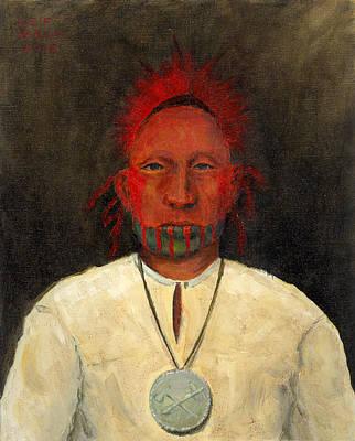 Keith Richards - Medallion by Leif Bakka