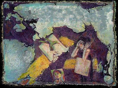 Mixed Media - Medea 4 by Ed Meredith