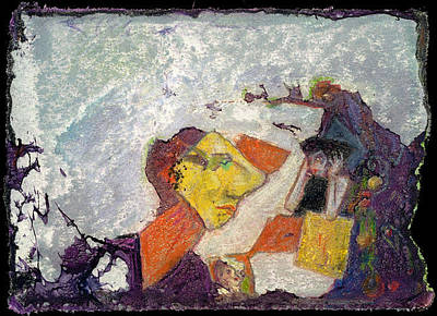 Mixed Media - Medea 7 by Ed Meredith