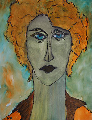 Painting - Medea  by Oscar Penalber