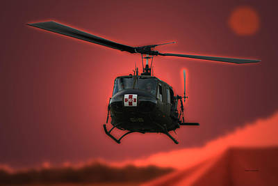 Tom Woolworth Photograph - Medevac The Sound Of Hope by Thomas Woolworth