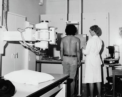 Photograph - Medical Exam, 1985 by Granger