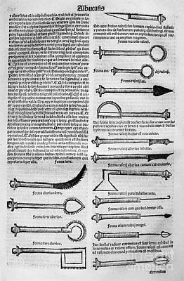 Medical Instruments, 1531 Art Print by Granger
