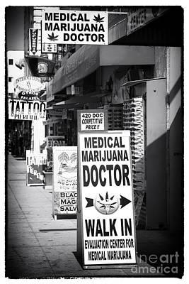 Photograph - Medical Marijuana Doctor by John Rizzuto