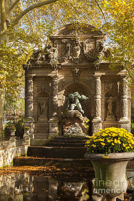 Cyclops Wall Art - Photograph - Medici Fountain - Paris by Brian Jannsen