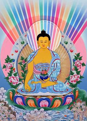 Medicine Buddha 1 Art Print