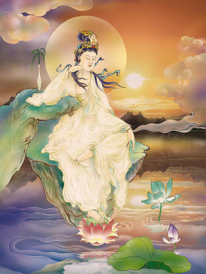 Medicine-giving Kuan Yin Art Print