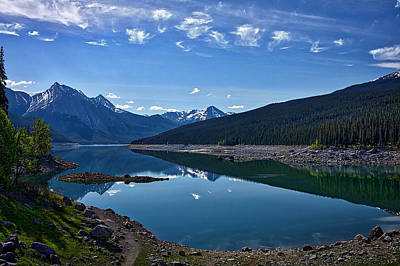 Photograph - Medicine Lake #3 by Stuart Litoff