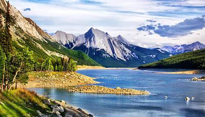 Photograph - Medicine Lake by Carolyn Derstine