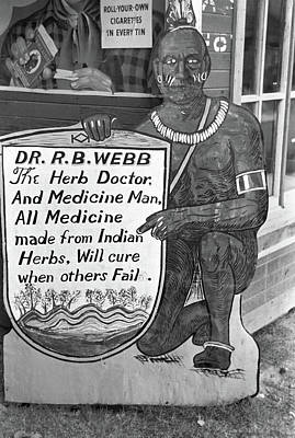 Photograph - Medicine Man, 1938 by Granger