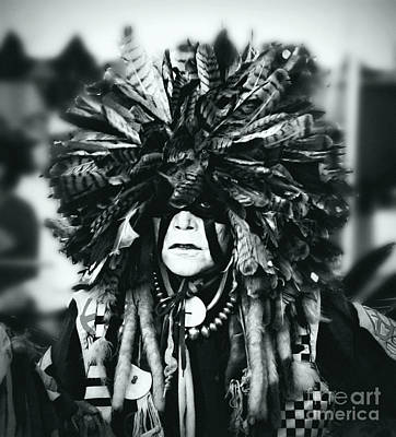 Medicine Man Silver Screen Art Print by Scarlett Images Photography