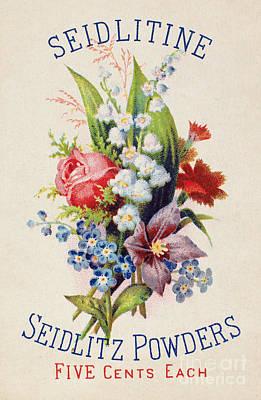 Photograph - Medicine Trade Card, C1880 by Granger