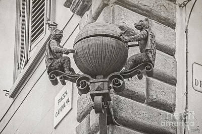 Photograph - Medieval Alarm by Prints of Italy