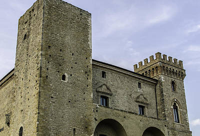 Photograph - Medieval Castle by Andrea Mazzocchetti