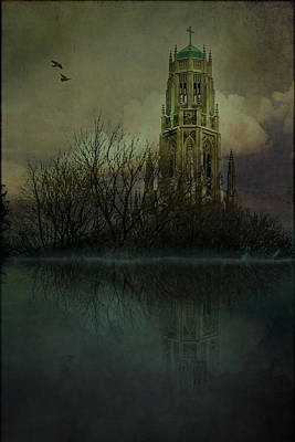 Digital Art - Medieval Church In Hamilton by Eduardo Tavares