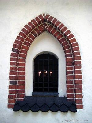 Photograph - Medieval Church Window by Leena Pekkalainen