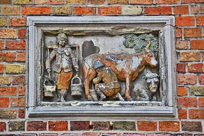 Medieval City Museum. Bruges. Original