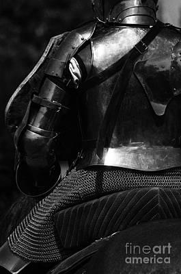 Medieval Dark Knight Art Print by Bob Christopher