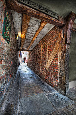 Photograph - Medieval Doorway by Beverly Cash