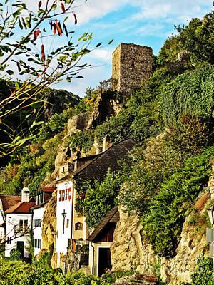 Photograph - Medieval Durnstein II by Elvis Vaughn