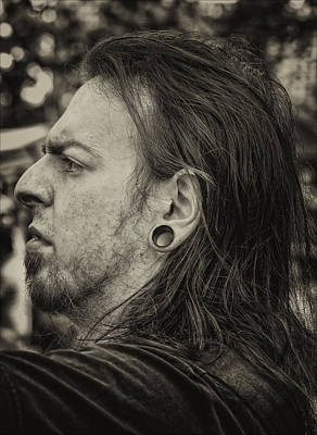 Pierced Ears Photograph - Medieval Festival Ft. Tryon Pk Nyc  21013 Pierced Ear by Robert Ullmann