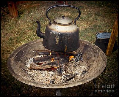Photograph - Medieval Fireplace by Gabriele Pomykaj