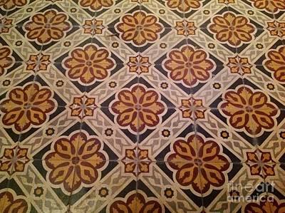 Medieval Tiles Art Print by France  Art