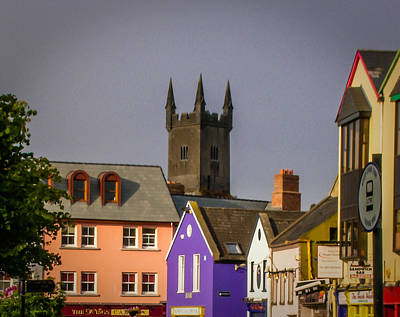 Photograph - Medieval Friary Towers Over Ennis In County Clare by James Truett